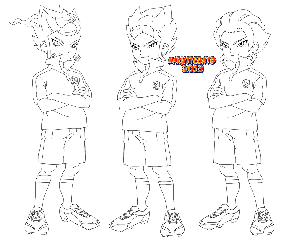 lineart kyousuke et yuuichi tsurugi brother by naruttebayo67 on