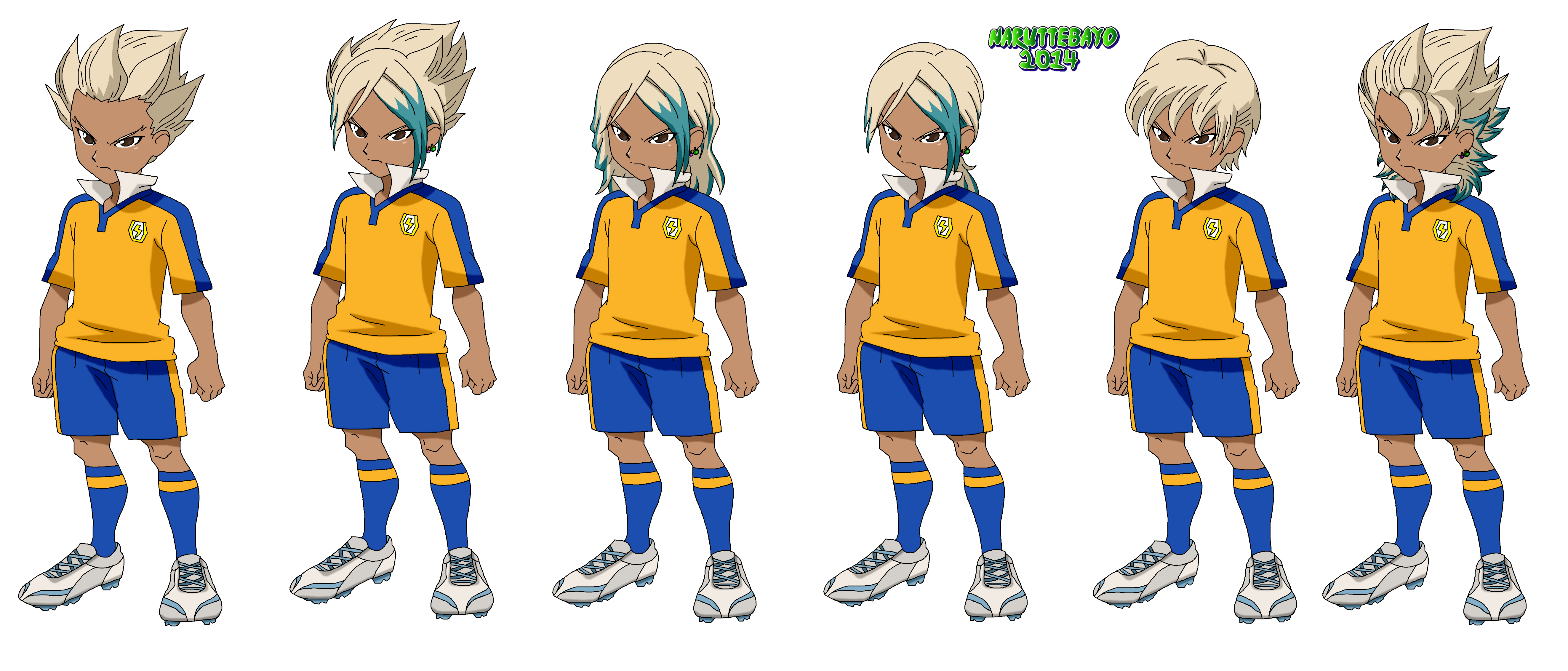 Hair Style Png: Colo Gouenji Hair Style By Naruttebayo67 On DeviantArt