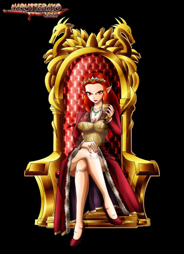[colo] Aphrodite Souveraine+throne (render) by ...
