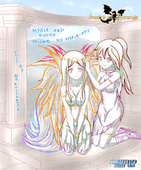[sketch] duo Myria Umeko By Myria Art