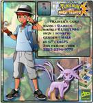 Deviantart Pokemon Trainer Id Card Final 2017