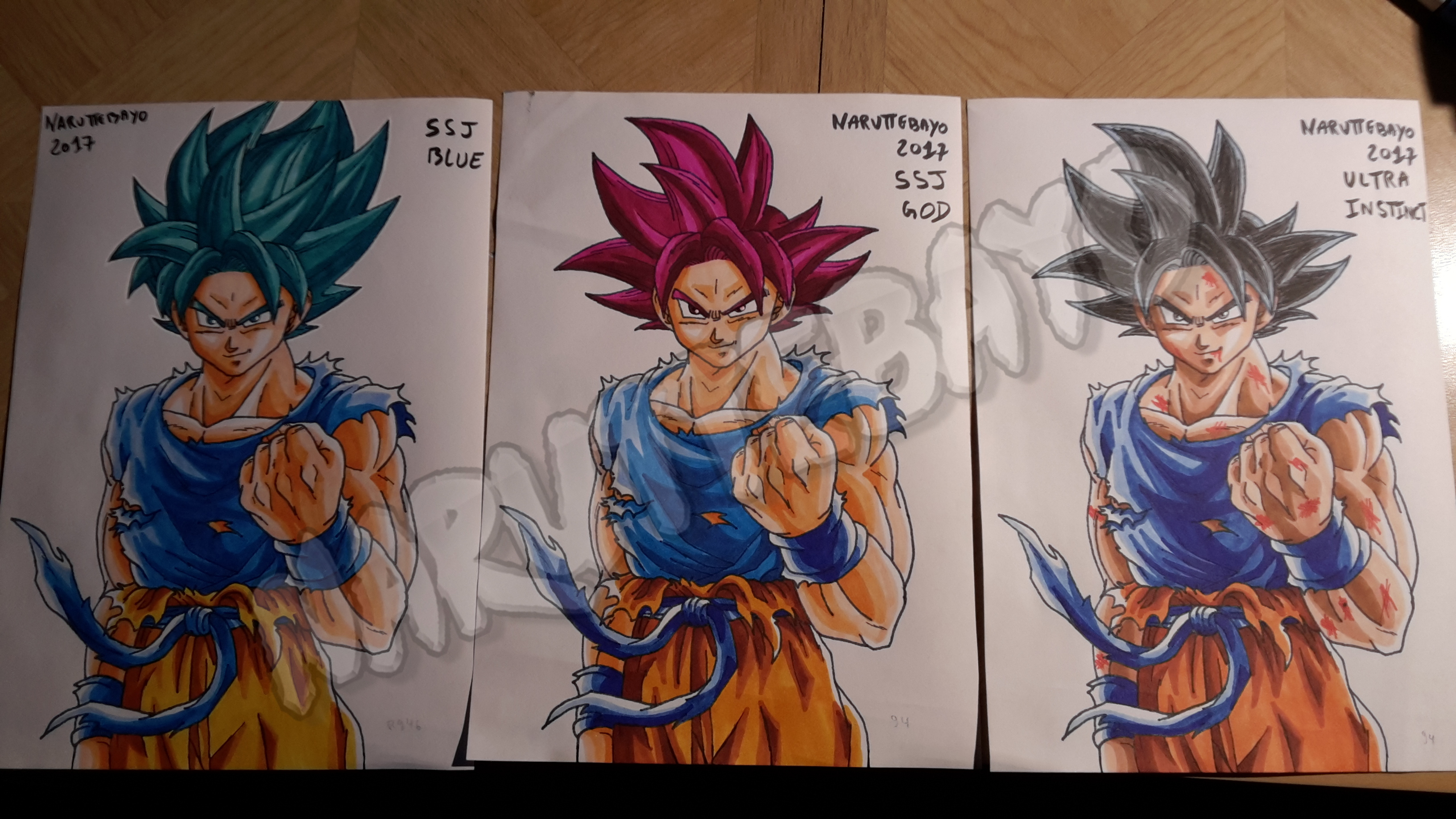 25 12 2017 Goku Blue God Ultra Instinct By Naruttebayo67 On