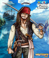 [colo] Jack Sparrow One Piece