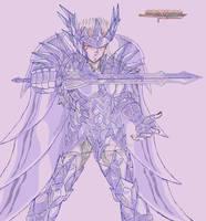 [sketch] Odin God Robe V2 god cloth