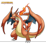 Pokemon Dracaufeu Shiny Mega X By Naruttebayo67 On Deviantart