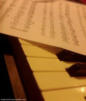 piano scores by Lachresta