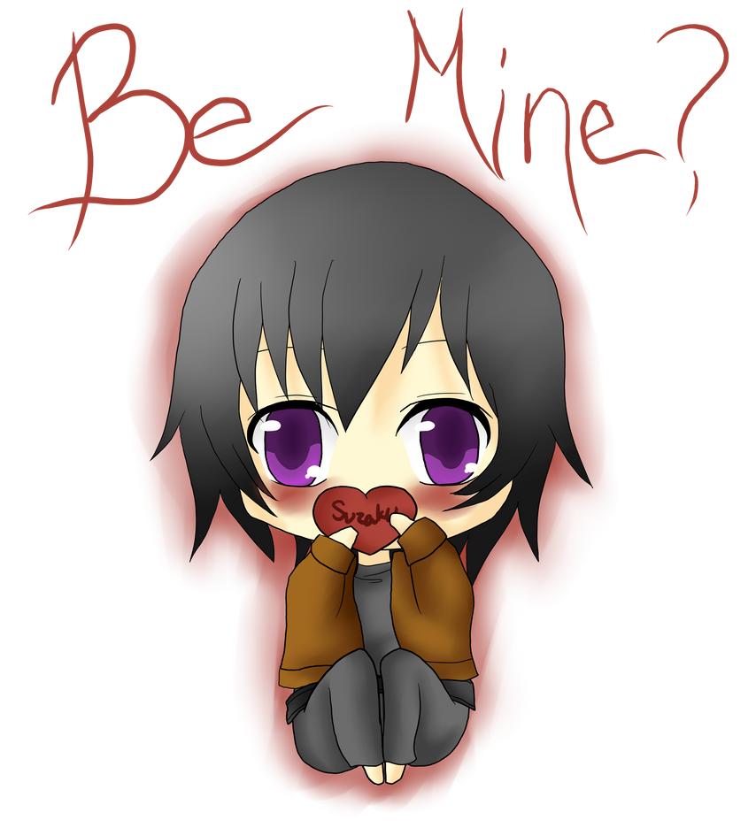 Be Mine? by DarkyCakeDoodles