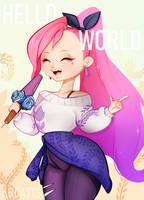 SERAPHINE Hello World by arcatts