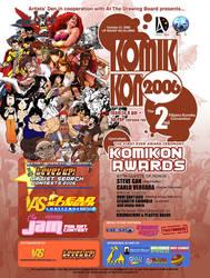 KOMIKON 2006 Poster