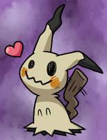 Happy Mimikyu by 1meengreenie