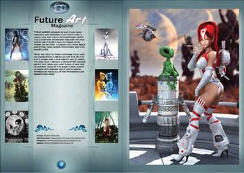 Fredy Fam Magazine Pages by Future-Art-Magazine