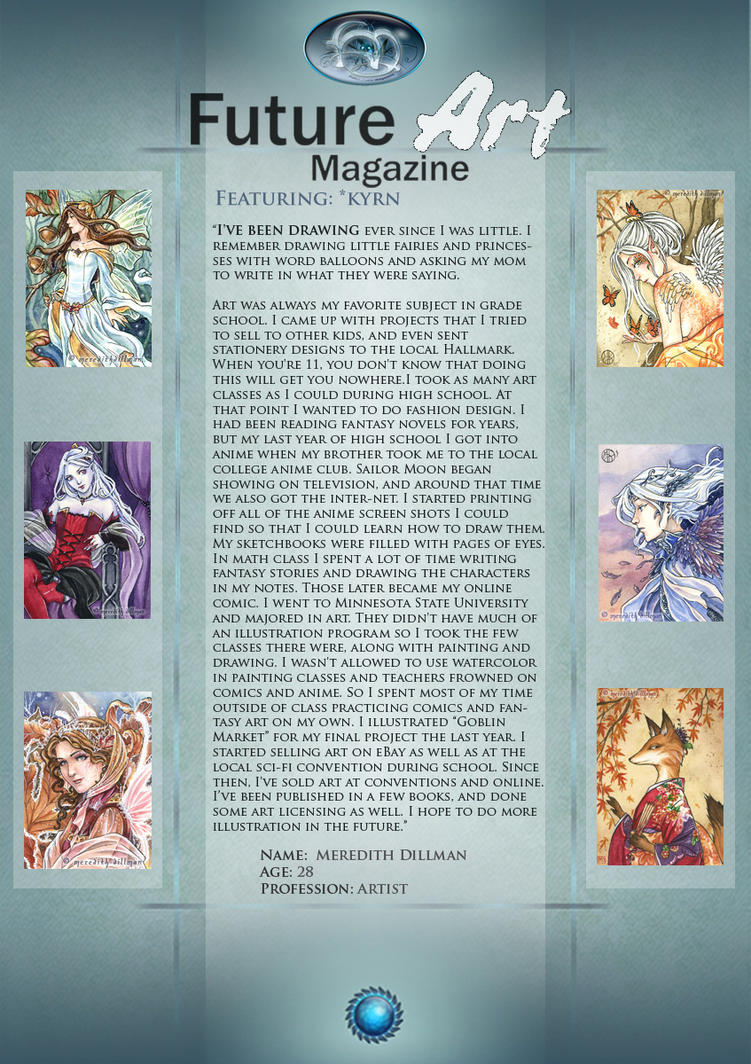 Featured Artist: Kyrn by Future-Art-Magazine