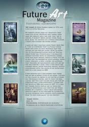 featured Artist: Azurylipfe by Future-Art-Magazine