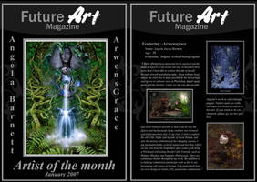 Monthly Artist - January by Future-Art-Magazine