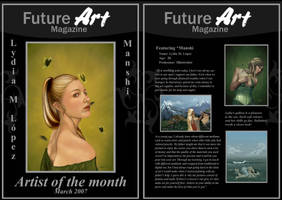 Monthly Artist - March by Future-Art-Magazine