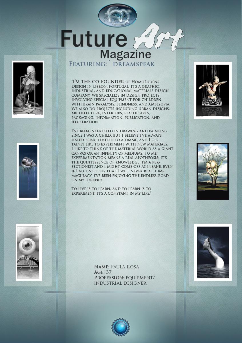 Artist Feature: Dreamspeak by Future-Art-Magazine