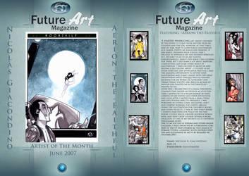 Monthly Artist June by Future-Art-Magazine
