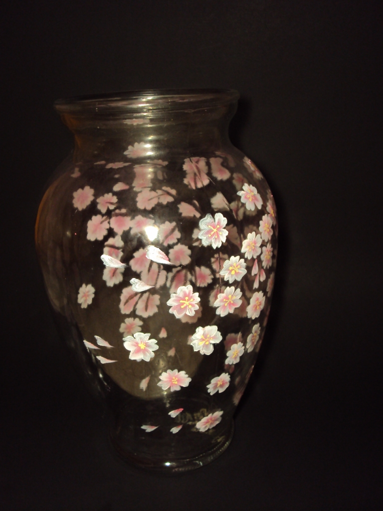 Sakura on a vase 3 by fion-fon-tier