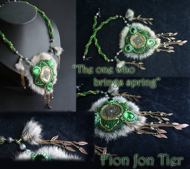 The one who brings spring by fion-fon-tier