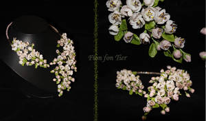 Apple's blossom necklace by fion-fon-tier