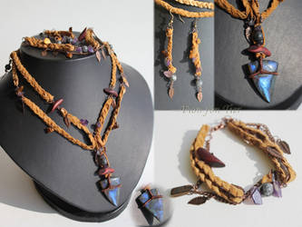 Elhaz jewelry set by fion-fon-tier