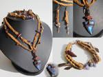 Elhaz jewelry set
