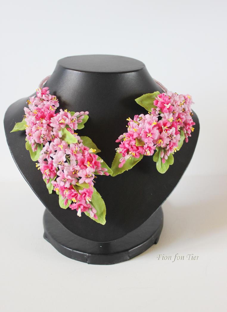 Pink sakura by fion-fon-tier