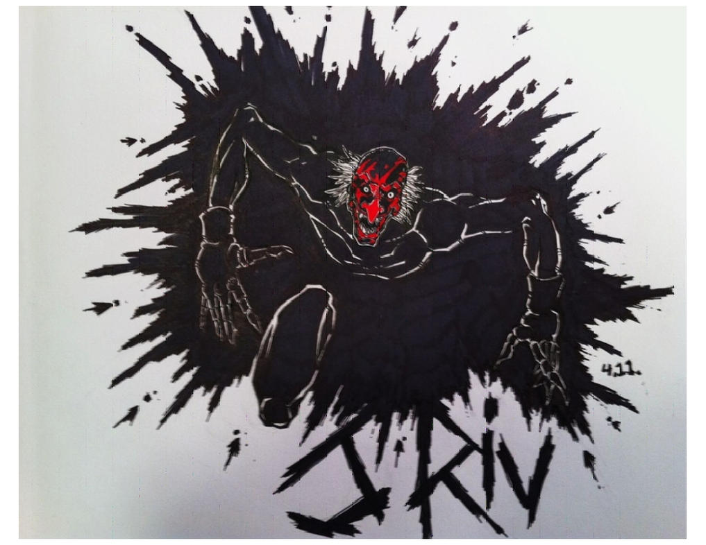 Insidious Demon Sketch by JohnnyRIVInsidious Demon Drawing