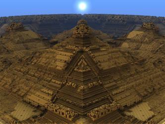 Menger Pyramid by somnl