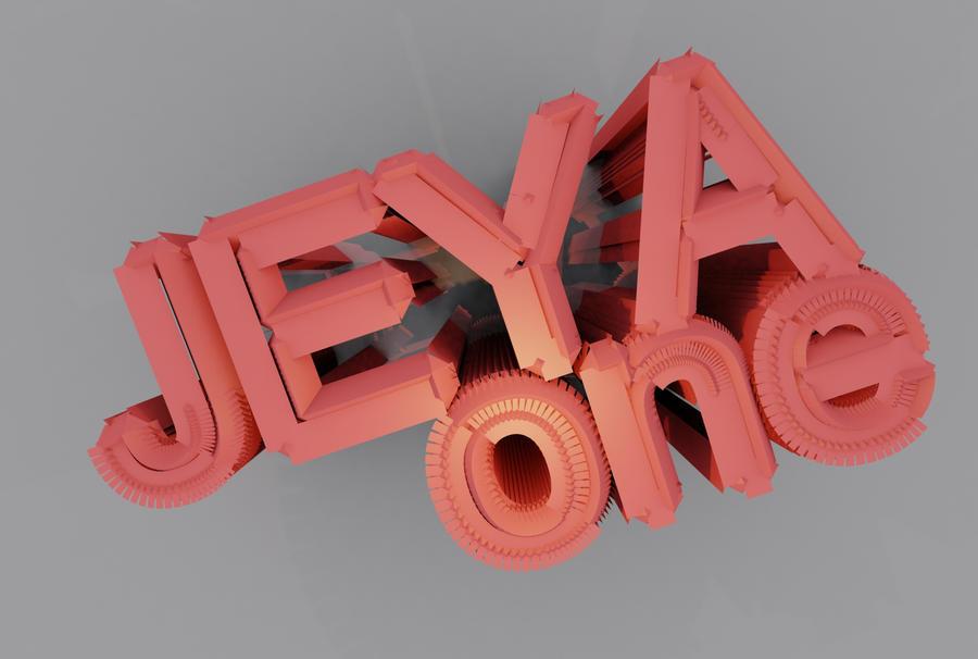 jeyaONE 3D Type by MediaMilitia