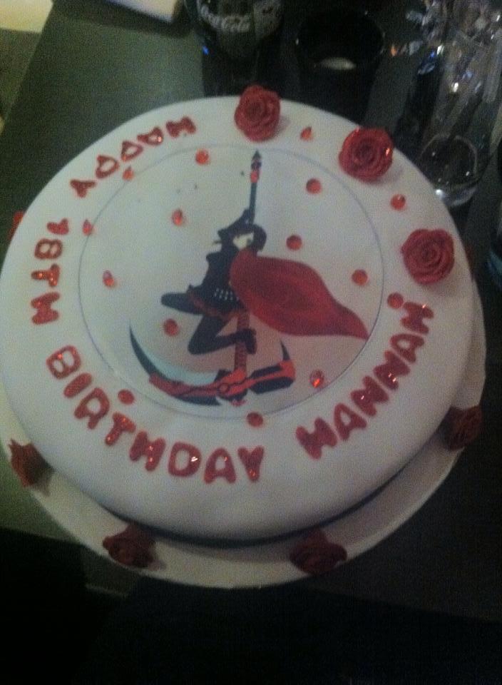 Rwby Cake By Marshmellowygoo On Deviantart