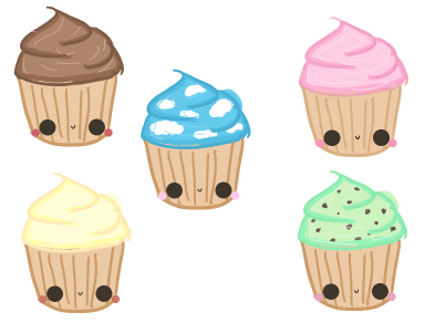 Cute Cupcakes by starr-gurl1o1 on DeviantArt