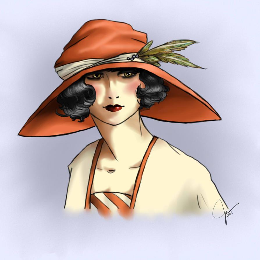 Sylvie 1923 by ChocoboGoddess
