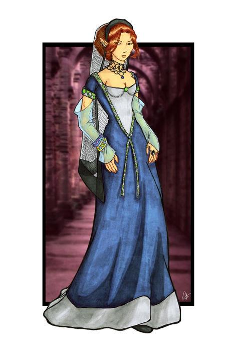 Merchant Road - Lady Daene by ChocoboGoddess