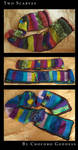 Two Funky Scarves