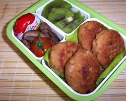 Tuna miso mini burgers by Cyntilla