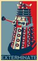 Hopeful Dalek by Cyntilla