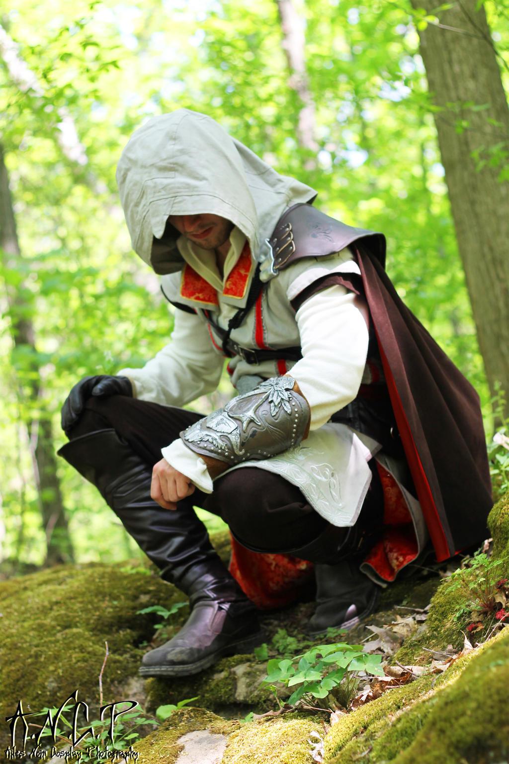 AC II: Ezio Auditore da Firenze (Shoot #2) #4 by AilesNoir