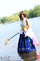 Final Fantasy X: Yuna #1 by AilesNoir