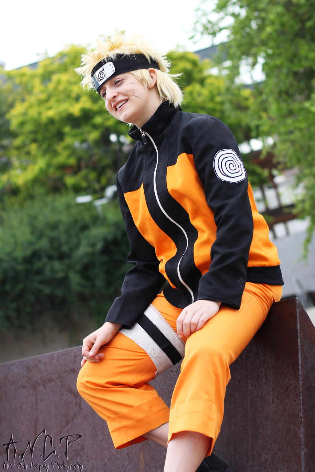 Naruto Uzumaki (Naru Cosplay) #1 by AilesNoir