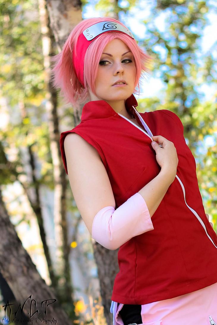 Naruto Shippuden: Sakura Haruno #4 by AilesNoir