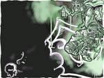 Graffiti Ninja Wallpaper..