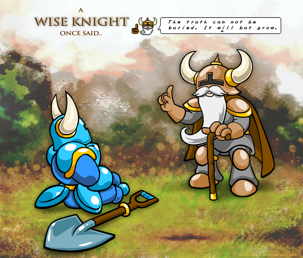 Wise Knight Of Shovel Land By RothSothy On DeviantArt