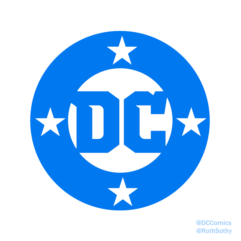 dc comics logo 2016 roth sothy bullet remix by