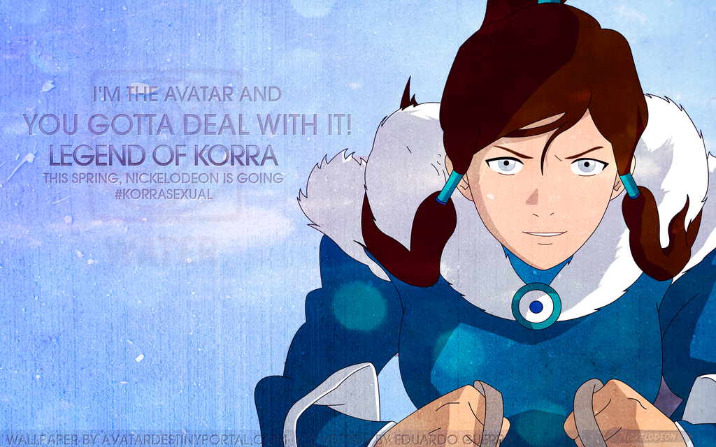 Avatar legend of korra wallpaper deal with it by becomingtia voltagebd Images