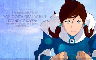 Avatar: Legend of Korra Wallpaper - Deal With It!