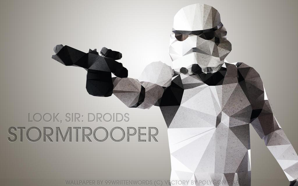 Star Wars Wallpaper: Stormtrooper by tea-junkyard