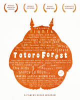 The Totoro Forest | Poster Design