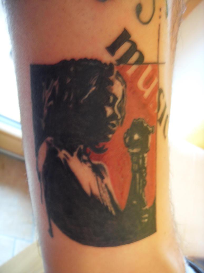 Gridlocked tattoo by al stars on deviantart for Tattoo shops in mobile al
