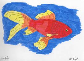 Inktober 2020 01 Fish